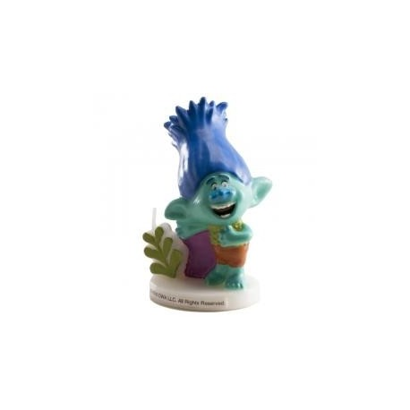 Sviečka Trolls modrý