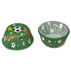 Cukrárske košíčky futbal maxi
