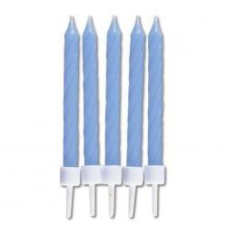 Sviečky modré 10