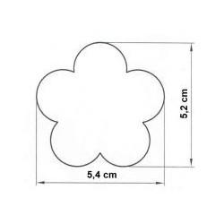 Forma na semifreda kvet