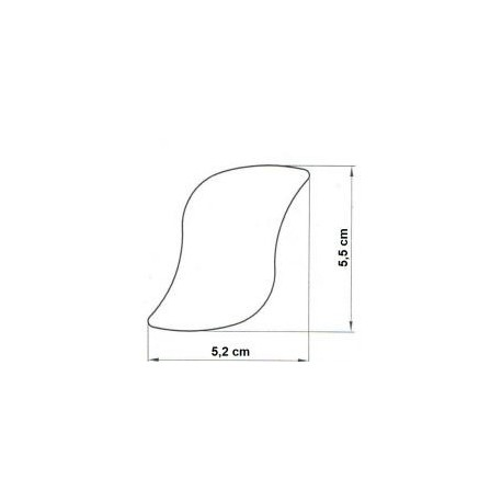 Forma na semifreda vlnka