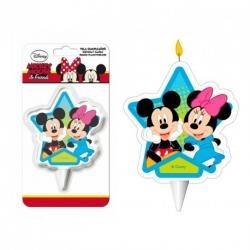 Sviečka Mickey a Minnie 2D