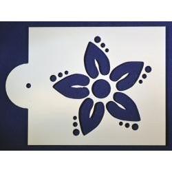 Stencil kvet