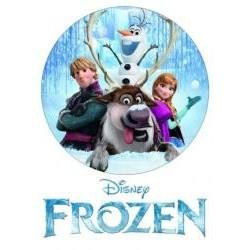 Jedlá oblátka Frozen