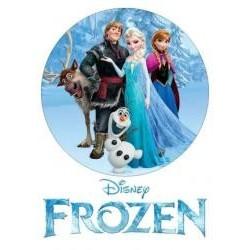 Jedlá oblátka Frozen I.