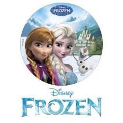 Jedlá oblátka Anna a Elsa