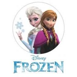 Jedlá oblátka Anna a Elsa I.