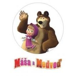 Jedlá oblátka Máša a medveď I.