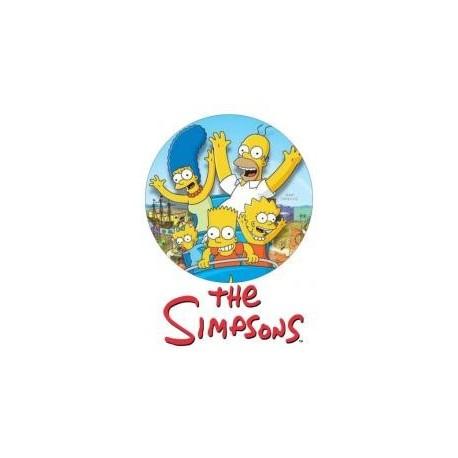 Jedlá oblátka Simpsonovci I.