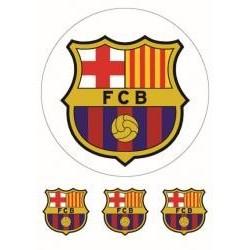 Jedlá oblátka FCB