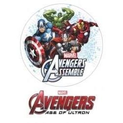 Jedlá oblátka Avengers