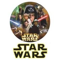 Jedlá oblátka Star wars