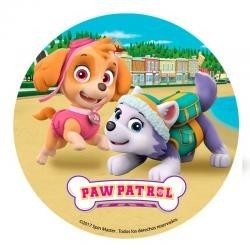 Vafla Paw patrol kruh