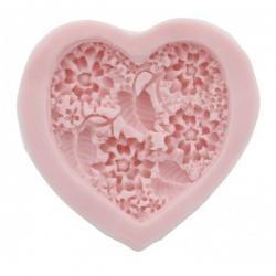 Silikónová forma srdce veľké