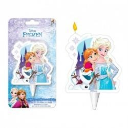 Sviečka Frozen 2D