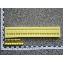 Silikónová bordúra perly