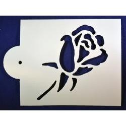 Stencil ruža