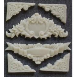 Silikónové ornamenty 268