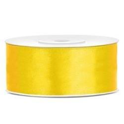 Stuha saténová žltá