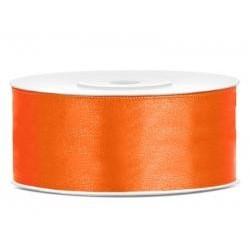 Stuha saténová oranžová