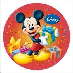 Vafla Mickey červený