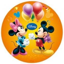Vafla Mickey a Minnie oranžový