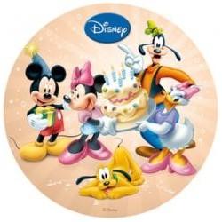 Vafla Mickey,Minnie a priatellia