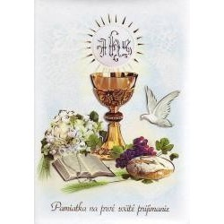 Vafla prvé sväté príjímanie