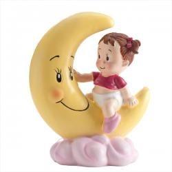 Figúrka dievčatko na Mesiaci