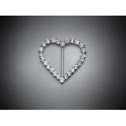 Brošňa srdce L