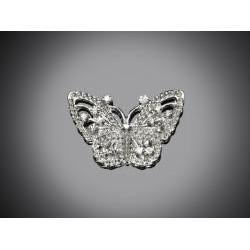 Brošňa motýľ S