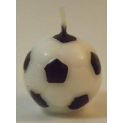 Sviečka futbalová lopta