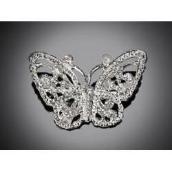 Brošňa motýľ L