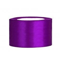 Stuha saténová purpurová
