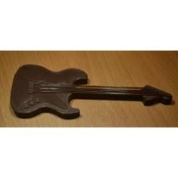 Dekorácia gitara hnedá
