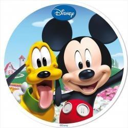 Vafla Mickey s Plutom