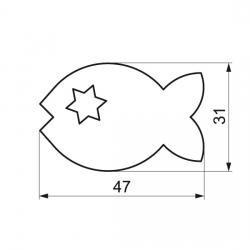 Rybička + hviezdička