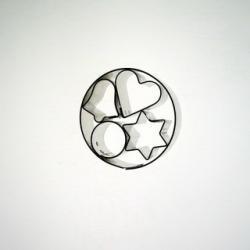 Vykrajovačka kolečko+mini