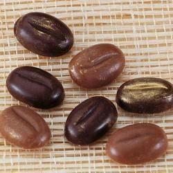 Polykarbonátová forma kávové zrná