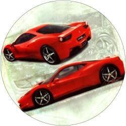 Vafla - športové auto