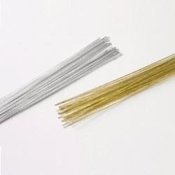 Aranžovací drôt - zlatý