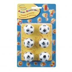 Sviečky futbal. lopty