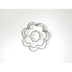 Vykrajovačka kvety 3ks