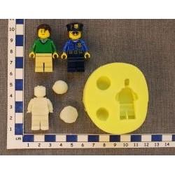 Silikónová forma lego panáčik