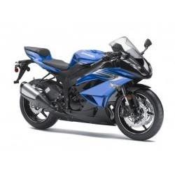 Vafla motorka modrá