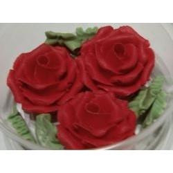 Ruža veľká červená