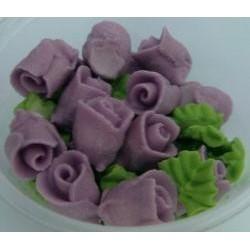 Ruža  malá fialová