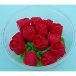 Ruža  malá červená