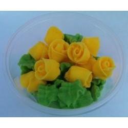 Ruža malá žltá