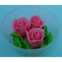 Ruža stredná ružová